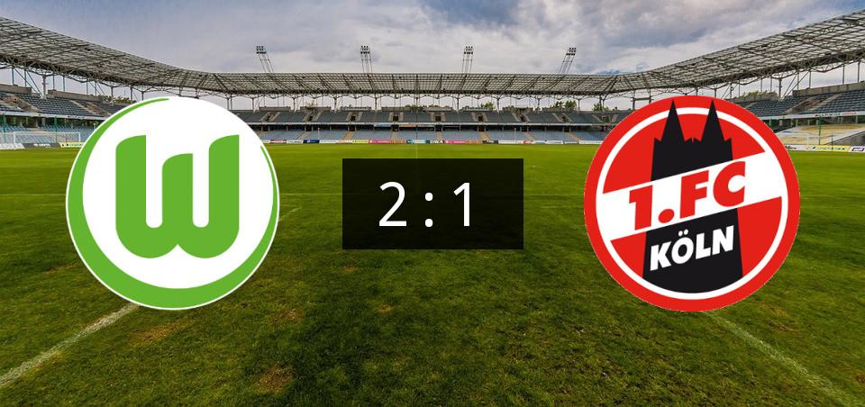 Wolfsburg Gegen Köln