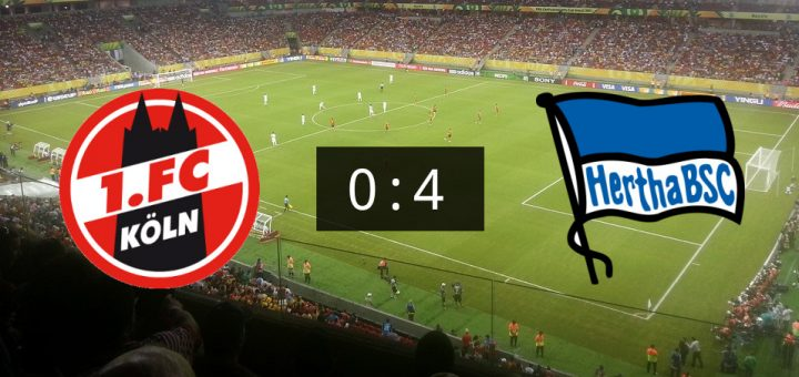 1 Fc Koln Und Berlin Endet Mit 0 4 Fussball News De