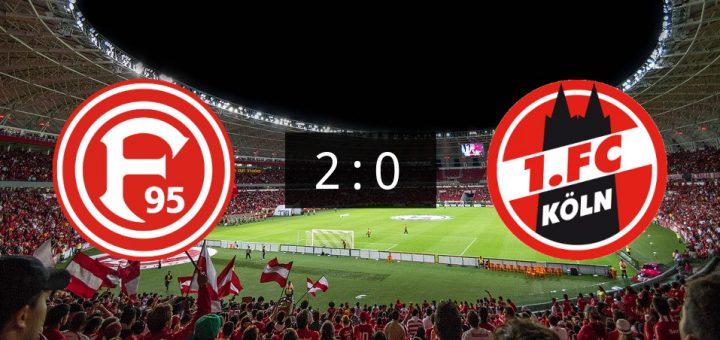 Dusseldorf Und Fc Trennen Sich Mit 2 0 Fussball News De