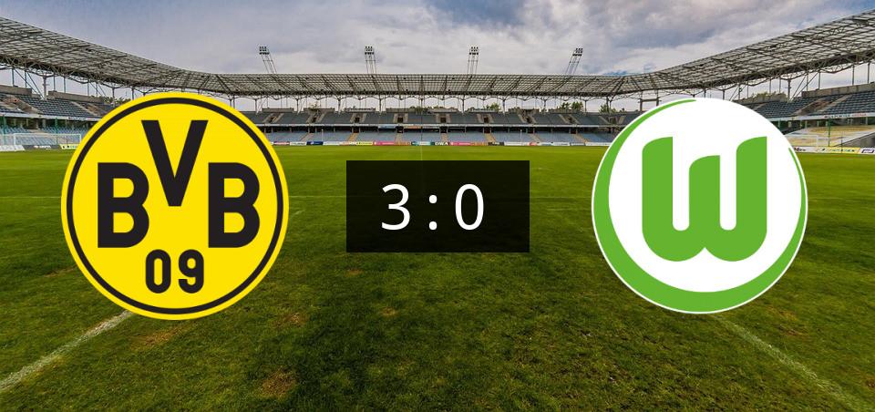 FuГџball Dortmund Gegen Wolfsburg