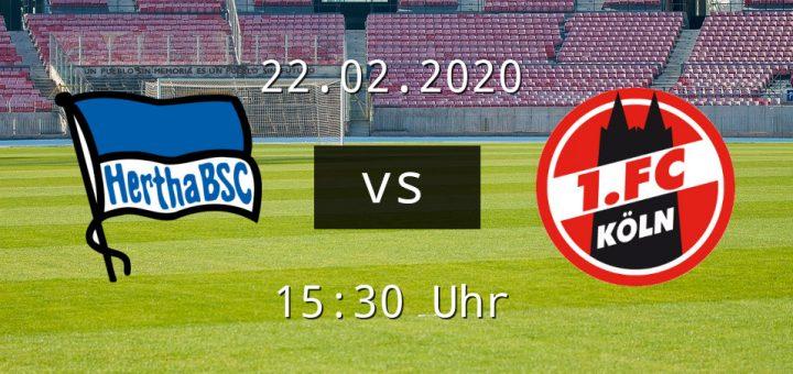 Berlin Spielt Zu Hause Gegen 1 Fc Koln Fussball News De