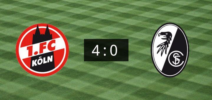 Köln Gegen Freiburg